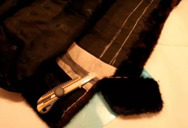 Укорачивание рукавов и низа одежды из меха