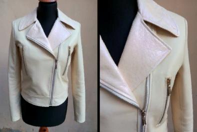 Ремонт воротника куртки